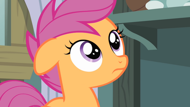 File:Scootaloo hearing Rainbow Dash talking S4E05.png