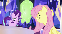 "Fluttershy ""they'd be happy to see you"" S6E25"