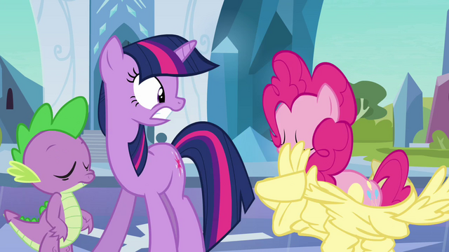 File:Pinkie Pie emerging from the Fluttershy costume S03E01.png