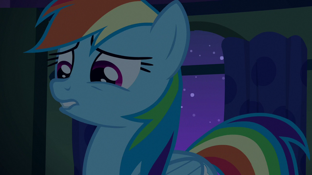 File:Rainbow Dash looking creeped out S6E15.png