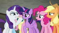"Rarity ""everything has to be perfect"" S6E9"