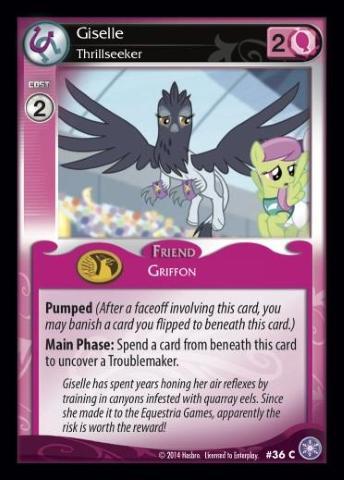 File:Giselle, Thrillseeker card MLP CCG.jpg