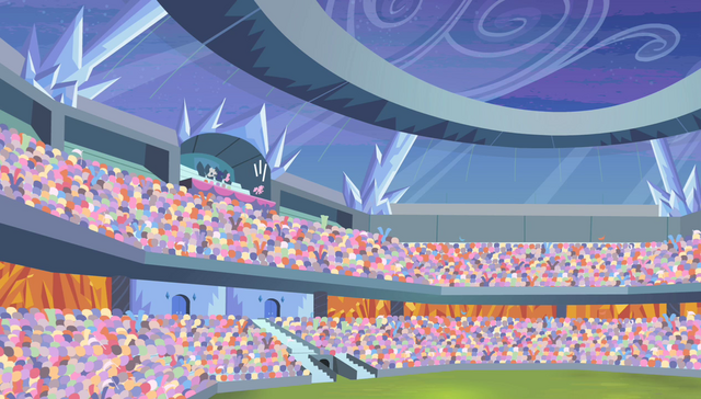 File:Pinkie Pie hopping in the top row S4E24.png
