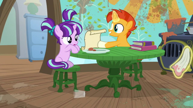 File:Sunburst shows filly Starlight a cleaning spell S6E1.png