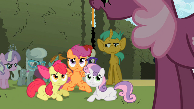 File:The Cutie Mark Crusaders are done fighting S2E01.png