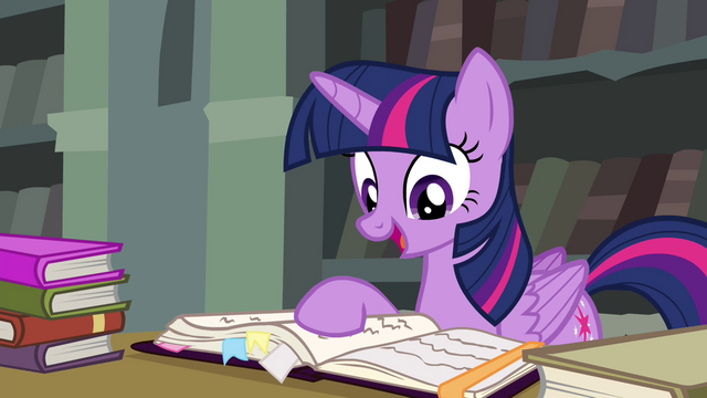 File:Twilight mentions Discord's bookmarks S4E25.png