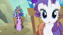 "Rarity ""What did I teach you?"" S1E19"