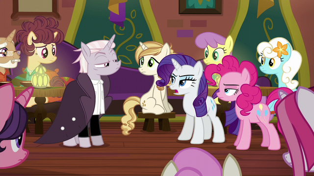 "File:Rarity ""very strange opinions about food"" S6E12.png"
