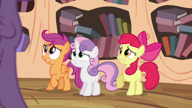 File:Cutie Mark Crusaders in trouble S4E15.png