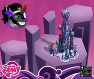 King Sombra Castle MLP Mobile game