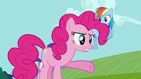 Pinkie Pie angry over whipped cream S03E10