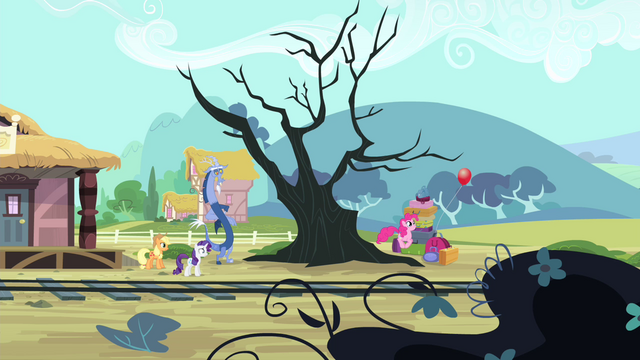File:Pinkie Pie hopping after the balloon S4E11.png