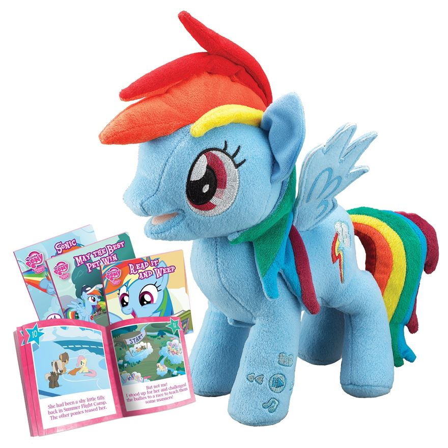 My Little Pony Toy Food : Image my little pony rainbow dash animated storyteller