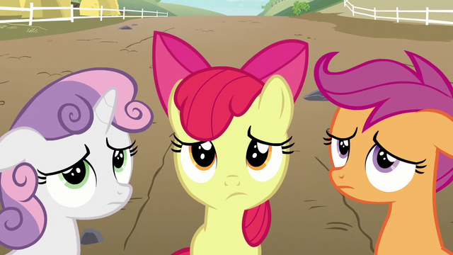 File:Cutie Mark Crusaders disappointed S6E4.png