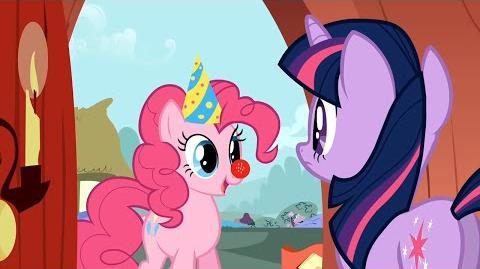 MLP FiM - Pinkie Pie's Singing Telegram (Slovenian, POP TV version)