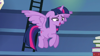 "Twilight ""such a thing as too much studying"" S6E21"