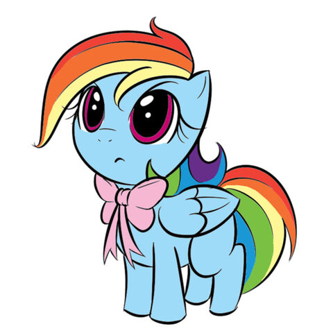 File:FANMADE Filly Rainbow Dash.jpg