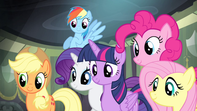 File:Main ponies in agreement S4E06.png