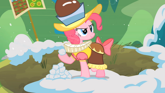 File:Pinkie Pie with snowball S02E11.png