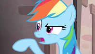 "Rainbow Dash ""the reason to be rude"" S5E1"