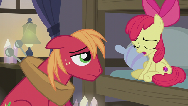 "File:Apple Bloom ""I wish we didn't have to"" S5E20.png"