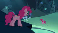 Pinkie Pie double 'Did somebody say fun' S3E03