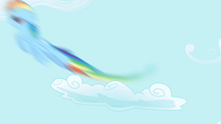 Rainbow zips into the sky S1E01