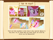 Flying minigame instructions MLP Game