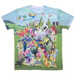 MLP Season Two Allover T-shirt front WeLoveFine