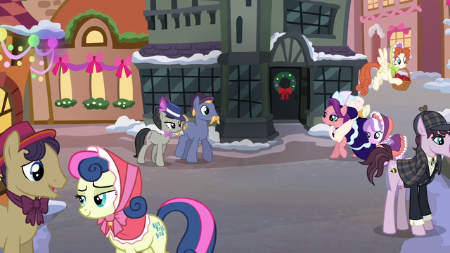 File:Ponies gathered on the street S06E08.png