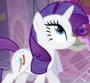 Rarity with Dash's cutie mark ID S3E13.png