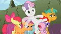 Cutie Mark Crusaders Cheerilee's Class4 S2E01.png