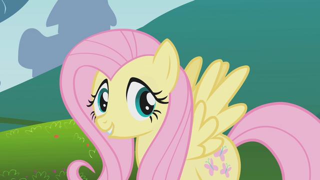 File:Fluttershy talking to Applejack off-screen S1E4.png