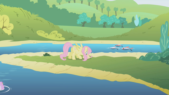 File:Fluttershy at a river S1E5.png