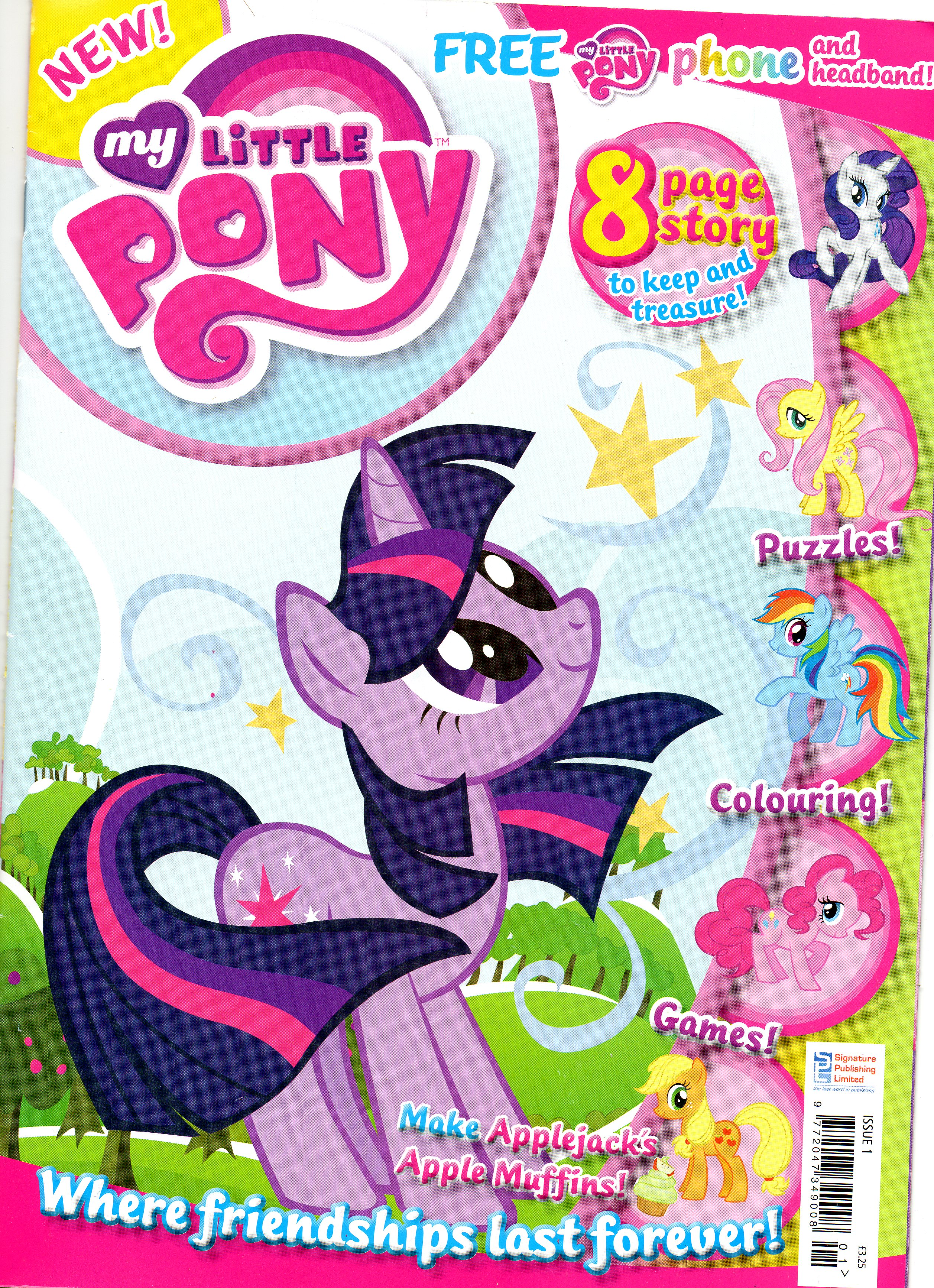 Image - MLP UK Magazine Front.jpg | My Little Pony Friendship is ...