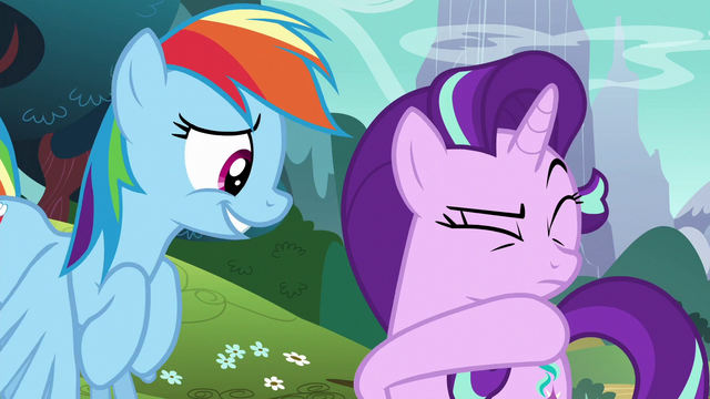 File:Starlight wiping spit off her face S6E6.png