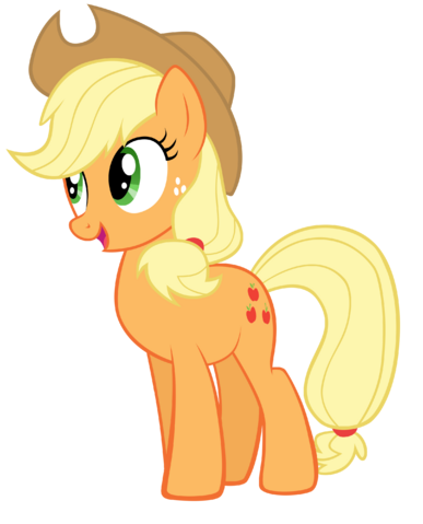 File:FANMADE Applejack vector by ekkitathefilly.png