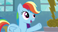 "Rainbow Dash ""payin' off like this"" S6E7"