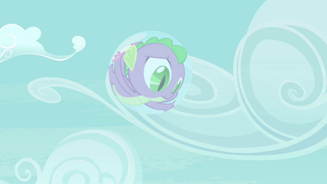 File:Spike stuck inside a bubble S4E25.png