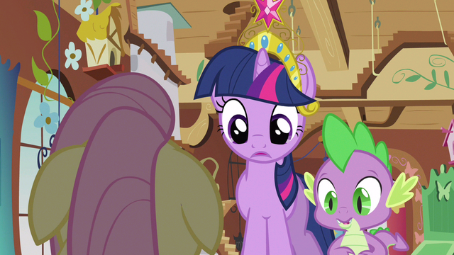 File:Twilight & Spike making sure S3E13.png