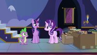Twilight thanks Starlight and Spike for their help S6E25