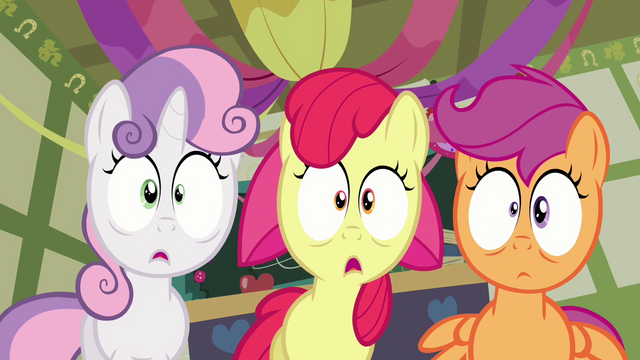 File:Cutie Mark Crusaders shocked S2E17.png