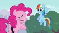 """Pinkie Pie """"should've been a big enough pony to admit that"""" S4E12"""