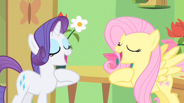 File:Rarity & Fluttershy cross my heart S1E20.png