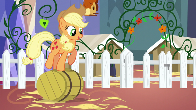 File:Applejack rolling a barrel S5E3.png