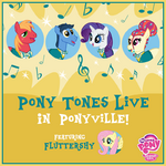 MLP Pony Tones Live in Ponyville Facebook photo