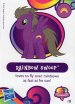 Wave 10 Rainbow Swoop collector card