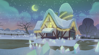 Pie family house exterior at night S5E20