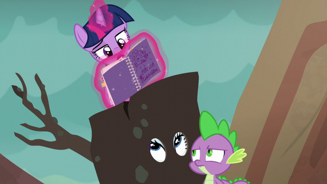 "File:Twilight ""her behavior does seem contradictory"" S6E5.png"