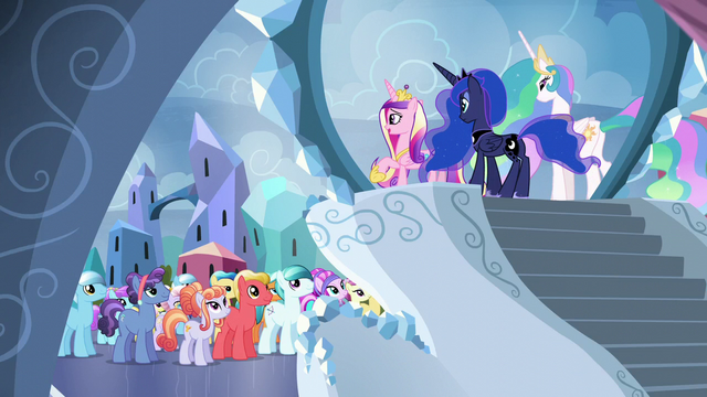 File:Cadance addresses the Crystal Ponies S6E1.png